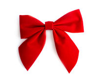 Wreath bow. On white background Stock Image