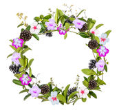 Wreath of creeper flower Stock Photography