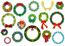 Wreath design Royalty Free Stock Photo