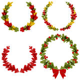 Wreath Designs Royalty Free Stock Photography