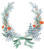 Wreath floral Royalty Free Stock Photo
