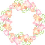 The wreath of flowers Royalty Free Stock Photography