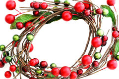Wreath frame stock images