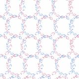 6d3252850691 Wreath frame pattern with pastel pink and blue color flowers and  leaves.Colorful floral