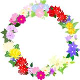 The wreath of fruits Royalty Free Stock Images