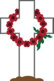 Wreath Gravestone Stock Images