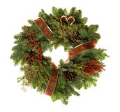 Wreath Heart Royalty Free Stock Photo