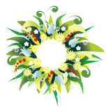 Wreath holiday Royalty Free Stock Photos