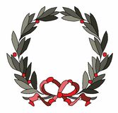 Wreath vector illustration