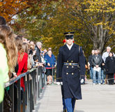 Wreath Laying Ceremony Arlington National Cemetery Royalty Free Stock Photos