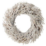 Wreath made with straw Royalty Free Stock Photography