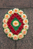 Wreath on Monument to Lenin in Pyatigorsk, Russia Royalty Free Stock Images