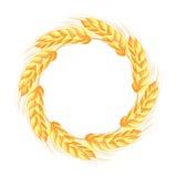 Wreath Of Wheat Ears Royalty Free Stock Photos