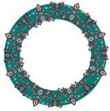 Wreath ornament vector. Wreath ornament on white, vector vector illustration