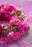 Wreath of roses Royalty Free Stock Photography