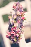 Wreath of roses Stock Photos