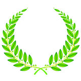 Wreath sign Royalty Free Stock Photo