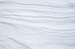 Wreath of snow bright surface Stock Image
