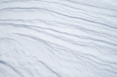 Wreath of snow bright surface Royalty Free Stock Photography