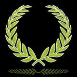 Wreath (vector). Laurel wreath (vector). Colors prepared for printing media Royalty Free Stock Photo
