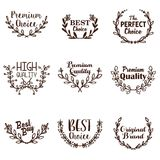 Wreath Vector Template Royalty Free Stock Image