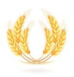 Wreath of wheat ears. Vector-Illustration Stock Photos