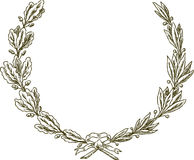 Wreath of the winner Royalty Free Stock Photography