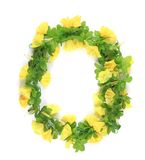 Wreath of yellow flower. Stock Photography