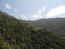 Gangtok, the capital city of Sikkim, India stock image