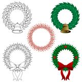 Wreaths Royalty Free Stock Photos