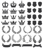Wreaths and crowns Royalty Free Stock Images