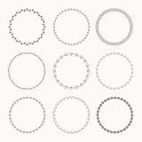 Wreaths for design Stock Photos