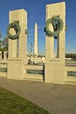Wreaths at the U.S. World War II Memorial ,Washington D.C. Royalty Free Stock Image