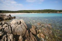 Wreck beach, Caprera island Stock Photography