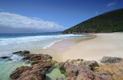 Wreck Beach Port Stephens Stock Images
