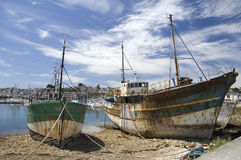 Wreck at Camaret-sur-mer Royalty Free Stock Photos