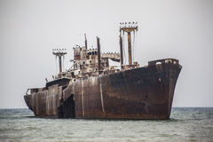 Wreck of the Costinesti Royalty Free Stock Images