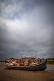 Wreck at Dulas Bay Stock Photo