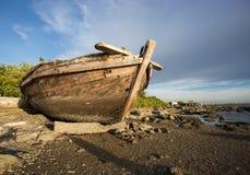 Wreck fishing boat Stock Photo