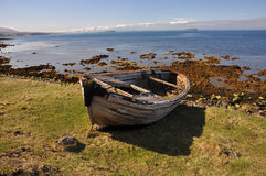 Wreck of Fishing boat, Iceland Stock Images