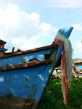Wreck fishing boat. Water thailand asia Stock Image