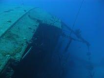 Wreck Hilma Hooker. On Bonaire, Dutch Antilles. V11BON0238-RF Stock Photos