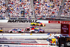 Wreck at Martinsville, VA. Royalty Free Stock Image