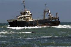 Wreck near swakopmund,namibia Royalty Free Stock Image