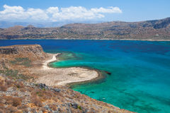 Lagoon Balos, Gramvousa, Crete, Greece Stock Images