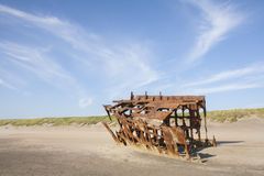Wreck of the Peter Iredale Royalty Free Stock Photo