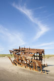 Wreck of the Peter Iredale Royalty Free Stock Image