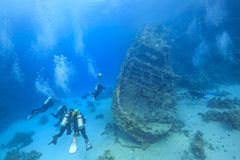 Wreck in the Red Sea Royalty Free Stock Photography