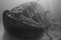 Wreck of Saphis Stock Image
