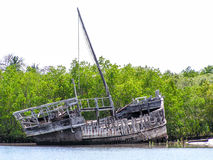 Wreck Ship Stock Image